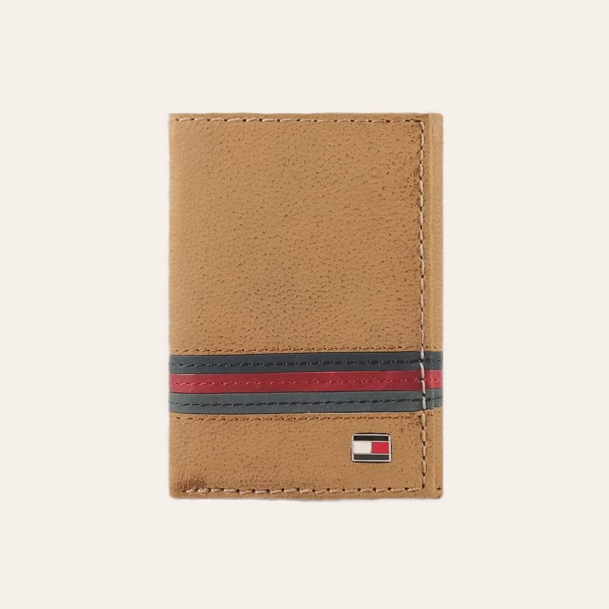 Pánská kožená peněženka TOMMY HILFIGER hnědá