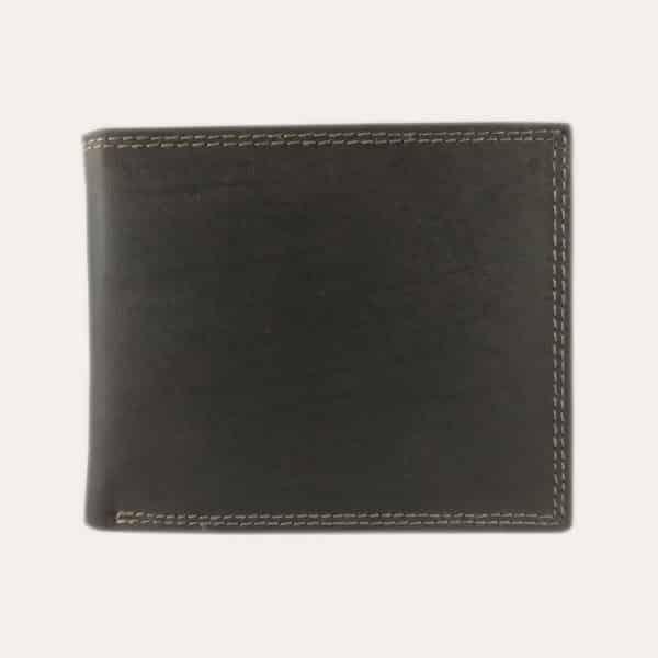 Pánská nubuk peněženka Kochmanski hnědá s RFID