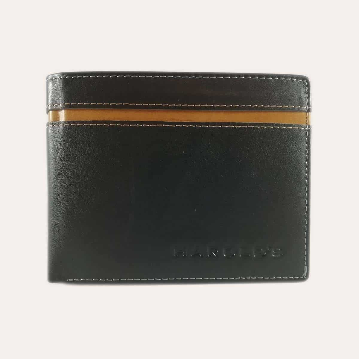 Pánská kožená peněženka Harold's černá