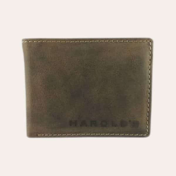 Pánská kožená peněženka Harold's hnědá