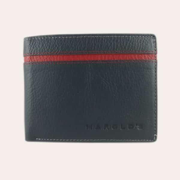Pánská kožená peněženka Harold's modrá