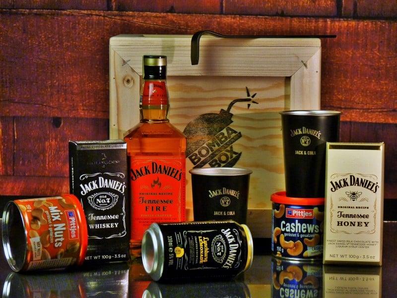 Bedna pro muže – Jack Daniel's Fire BOX