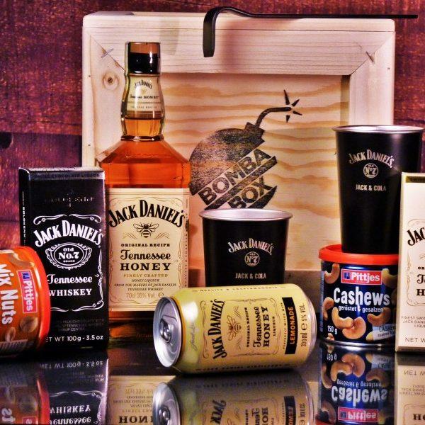 Bedna pro muže – Jack Daniel's Honey BOX