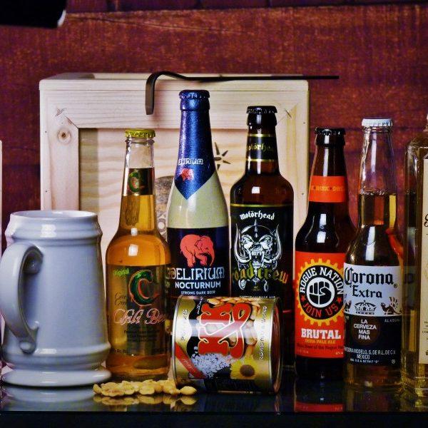 Bedna pro muže – Pivní BOX XXL