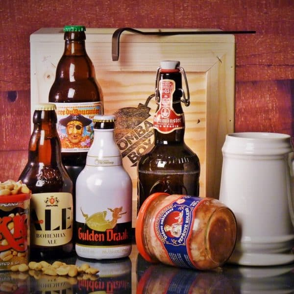 Bedna pro muže – Pivní BOX L