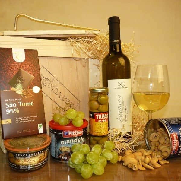 Bedna pro muže - Vinný BOX