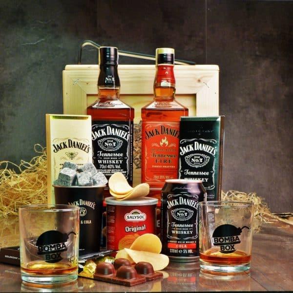 Bedna pro muže – Jack Daniel's & Fire BOX