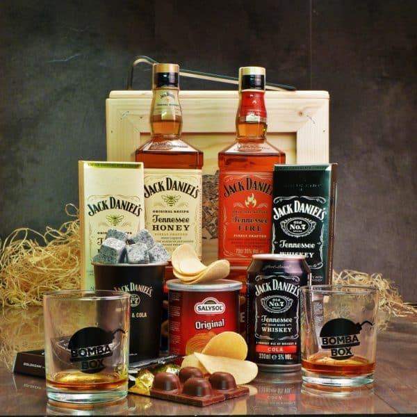 Bedna pro muže – Jack Daniel's Honey & Fire BOX