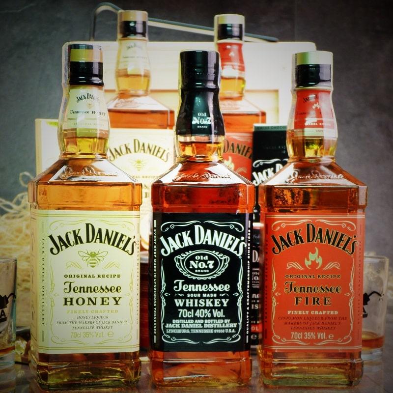 Bedna pro muže – Jack Daniel's & Honey BOX