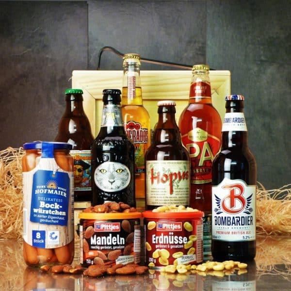 Bedna pro muže – Pivní BOX XL
